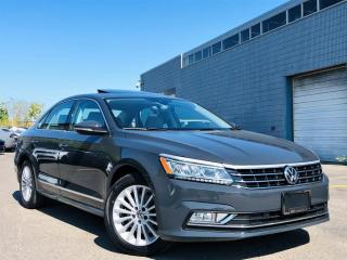 Used 2017 Volkswagen Passat SUNROOF|NAVIGATION|PARKING SENSORS|REAR VIEW|WOOD TRIM! for sale in Brampton, ON