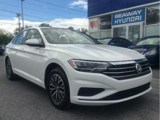 Used 2019 Volkswagen Jetta Highline - Bluetooth - Leather - Panoramic Sunroof for sale in Cornwall, ON