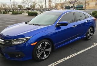 Used 2016 Honda Civic Sedan 4dr CVT Touring, all options for sale in Halton Hills, ON
