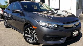 Used 2016 Honda Civic EX Sedan CVT - ALLOYS! SUNROOF! BACK-UP/BLIND SPOT CAM! for sale in Kitchener, ON