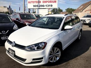Used 2017 Volkswagen Golf Sportswagon Comfortline Navigation/Camera/Alloys for sale in Mississauga, ON