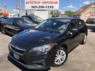 Used 2017 Subaru Impreza 2.0i Convenience Navi/Camera/Bluetooth/BT Audio for sale in Mississauga, ON