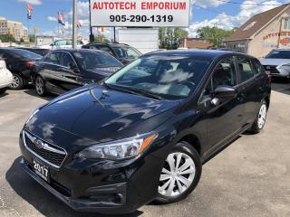 Used 2017 Subaru Impreza 2.0i HB Convenience Navi/Camera/Bluetooth/BT Audio for sale in Mississauga, ON
