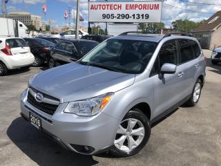 Used 2016 Subaru Forester Touring Sunroof/Alloys/Pwr Hatch/Htd Seats&ABS* for sale in Mississauga, ON