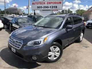 Used 2016 Subaru Outback 2.5i AWD Camera/Heated Seats/Bluetooth&GPS* for sale in Mississauga, ON