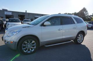 Used 2010 Buick Enclave CXL 2XL AWD 7 PASSNGR DVD NAVI CAMERA CERTIFIED 2YR WARRANTY PANO ROOF HEAT/COLD LEATHER SEAT for sale in Milton, ON