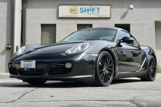Used 2010 Porsche Cayman ROADSTER SPORT CHRONO, SOUND PACKAGE, CARFAX CLEAN for sale in Burlington, ON