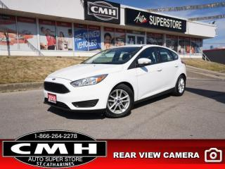 Used 2016 Ford Focus SE  CAM BT AUTO LOW KMS ALLOYS for sale in St. Catharines, ON