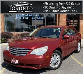 Used 2009 Chrysler Sebring Sedan LX Air Conditioning Power Seats Remote Start Heated Mirrors for sale in North York, ON
