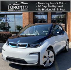 Used 2018 BMW i3 Base NAVI Sunroof Leather Heated Seats Clean Carfax for sale in North York, ON