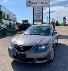 Used 2005 Mazda MAZDA3 i 4-door | LOW KMS | for sale in Barrie, ON