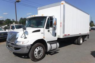 Used 2014 International 4300V Cube Van 20 feet Diesel Power Tailgate for sale in Burnaby, BC