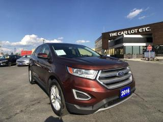 Used 2016 Ford Edge SEL AWD, 2.0L 4CYL ECOBOOST, PANORAMIC ROOF, LEATHER, NAVIGATION for sale in Sudbury, ON