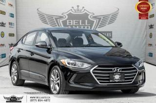 Used 2017 Hyundai Elantra GLS, NO ACCIDENT, REAR CAM, B.SPOT, SUNROOF for sale in Toronto, ON