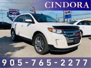 Used 2014 Ford Edge Limited, AWD, NAV, Leather, Pano Roof for sale in Caledonia, ON
