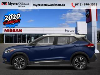 New 2020 Nissan Kicks SR  - Heated Seats -  Fog Lights for sale in Ottawa, ON
