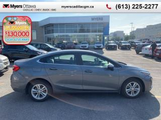 Used 2018 Chevrolet Cruze LT  LT, 1.6 DIESEL!, 9-SPEED AUTO, REAR CAMERA, CLEAN CARFAX for sale in Ottawa, ON