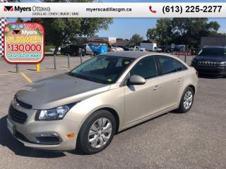 Used 2015 Chevrolet Cruze LT  LT, SEDAN, AUTO, A/C, REAR CAMERA, REMOTE START for sale in Ottawa, ON