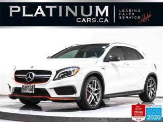 Used 2016 Mercedes-Benz GLA AMG GLA45, 375HP, NAV, PANO, CAM, AMG, HEATED, BT for sale in Toronto, ON