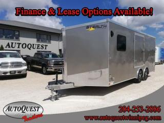 Used 2021 Stealth Cargo Trailer 8.5' x 20' V-Nose for sale in Winnipeg, MB