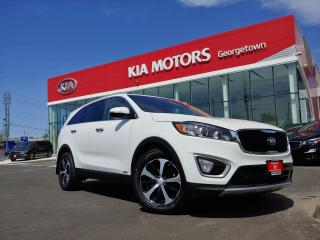 Used 2017 Kia Sorento EX TURBO | AWD | LEATHER | B/UP CAM | HEATED SEATS for sale in Georgetown, ON