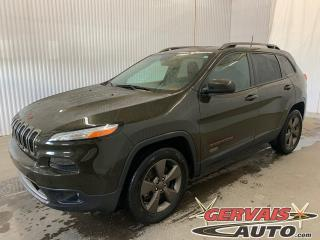 Used 2016 Jeep Cherokee 75th Anniversary 1941 4x4 GPS Toit Panoramique Mags *Bas Kilométrage* for sale in Trois-Rivières, QC