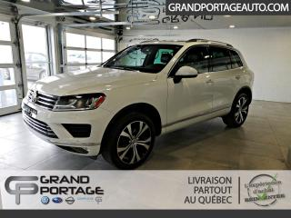 Used 2017 Volkswagen Touareg Édition Wolfsburg 4 portes TI for sale in Rivière-Du-Loup, QC