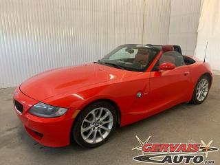 Used 2007 BMW Z4 3.0i V6 Convertible Cuir A/C MAGS *Transmission Automatique* for sale in Trois-Rivières, QC