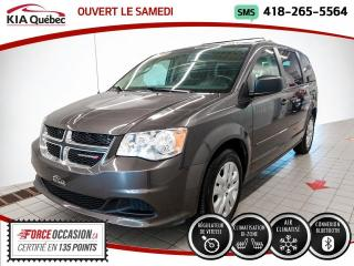 Used 2016 Dodge Grand Caravan SXT* STOW N GO* BIZONE* BLUETOOTH* for sale in Québec, QC