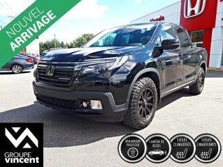 Used 2020 Honda Ridgeline Black Edition ** GARANTIE 10 ANS ** Incomparable camionnette intermédiaire si pratique pour les loisirs ou le travail. for sale in Shawinigan, QC