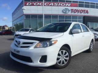 Used 2012 Toyota Corolla **AUTO/AIR/VITRES** for sale in St-Eustache, QC
