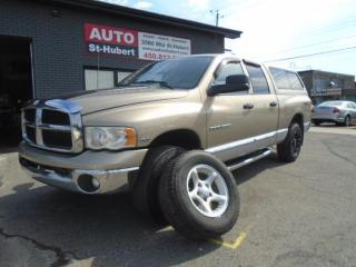 Used 2004 Dodge Ram 1500 SLT 4X4 ** UN AUBAINE ** for sale in St-Hubert, QC