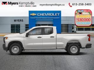New 2020 Chevrolet Silverado 1500 Work Truck for sale in Kemptville, ON