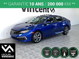 Used 2019 Honda Civic TOURING ** GARANTIE 10 ANS ** Liquidation 2019! for sale in Shawinigan, QC