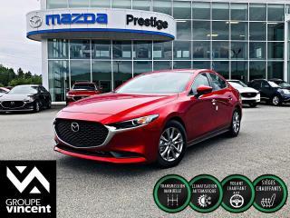 Used 2019 Mazda MAZDA3 GS ** GARANTIE 10 ANS ** Que ce soit pour l?expérience de conduite, son design ou son moteur innovant, un choix emballant! for sale in Shawinigan, QC