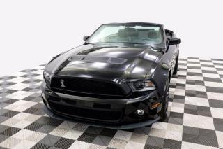 Used 2010 Ford Mustang Shelby GT500 Convertible Leather Nav for sale in New Westminster, BC