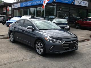 Used 2018 Hyundai Elantra Limited LEATHER, SUNROOF, HEATED SEATS/WHEEL!! for sale in Richmond, ON