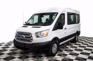 Used 2019 Ford Transit Passenger Wagon XLT 150 Medium Roof 8-Pass Nav Cam for sale in New Westminster, BC