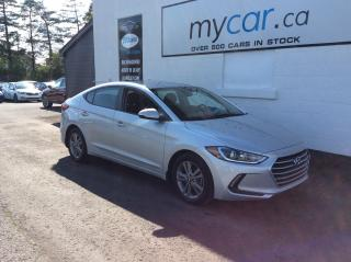 Used 2017 Hyundai Elantra GL HEATED SEATS, BACKUP CAM, ALLOYS, LOW MILEAGE!! for sale in North Bay, ON