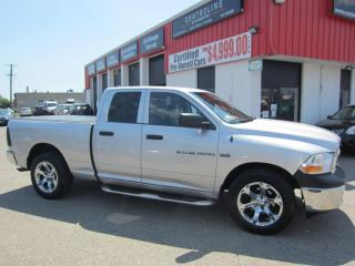 Used 2011 RAM 1500 ST 14,995+HST+LIC FEE / CERTIFIED / TANOUE COVER for sale in North York, ON