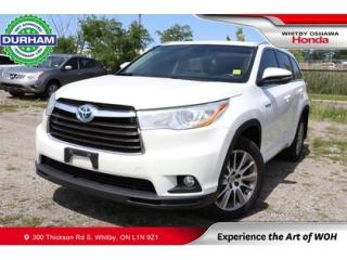 Used 2015 Toyota Highlander HYBRID 4WD 4dr XLE for sale in Whitby, ON