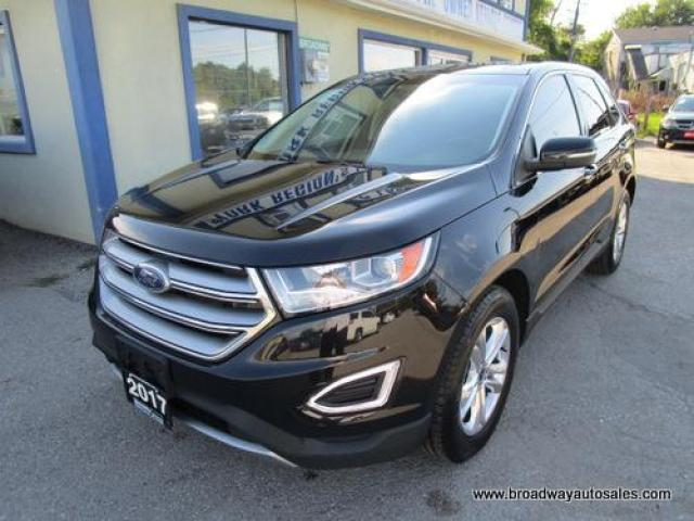 2017 Ford Edge ALL-WHEEL DRIVE SEL MODEL 5 PASSENGER 3.5L - V6.. NAVIGATION.. LEATHER.. HEATED SEATS.. PANORAMIC SUNROOF.. BACK-UP CAMERA.. BLUETOOTH SYSTEM..