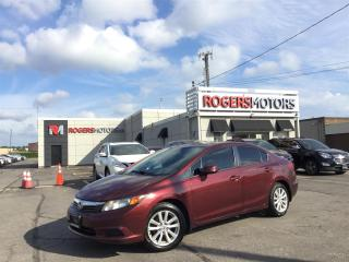 Used 2012 Honda Civic EX - 5SPD - SUNROOF - BLUETOOTH for sale in Oakville, ON