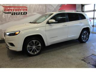 Used 2019 Jeep Cherokee Overland 4x4 for sale in Lévis, QC