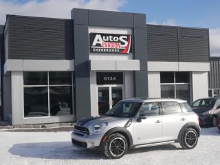 Used 2016 MINI Cooper Countryman S ALL4 + TOIT + CUIR + BAS KILO for sale in Sherbrooke, QC