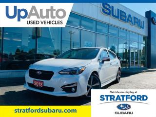 Used 2018 Subaru Impreza Sport-Tech w\ EyeSight for sale in Stratford, ON