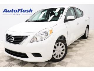 Used 2014 Nissan Versa SV *AUTO *BERLINE *A/C *GR-ELECTRIQUE *CRUISE for sale in St-Hubert, QC