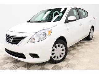 Used 2013 Nissan Versa SV *AUTO *BERLINE *A/C *GR-ELECTRIQUE *CRUISE for sale in St-Hubert, QC