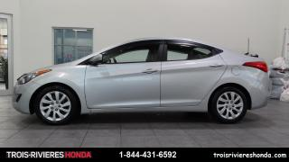 Used 2013 Hyundai Elantra GL + BAS KILO + MANUELLE + BLUETOOTH! for sale in Trois-Rivières, QC