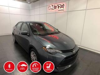 Used 2017 Toyota Corolla LE - CVT - SIÈGES CHAUFFANTS for sale in Québec, QC